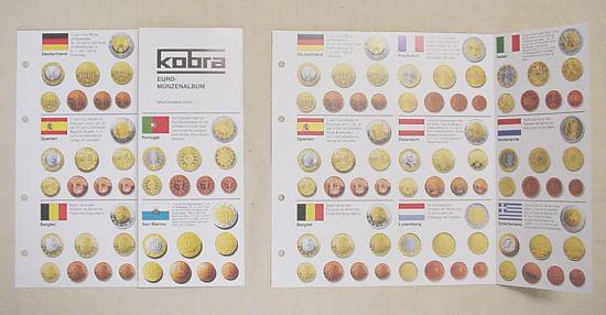 Kobra Sammlerzubehör Euromünzen übersicht Online Kaufen