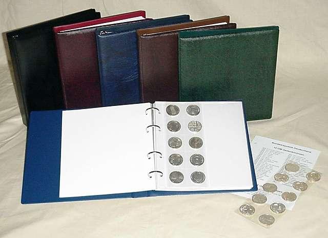 Kobra Sammlerzubehör Münzalbum Für 2 Euro Münzen Sonderposten