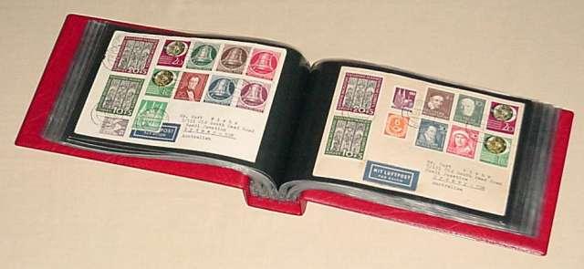 G5 rot KOBRA-Briefalbum Nr