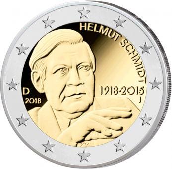 "Bonus: 2-Euro-Münze ""Helmut Schmidt"" kostenlos"