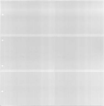 Einsteckblätter kleineres Format (325x330 mm) mit 6 Taschen (quer)