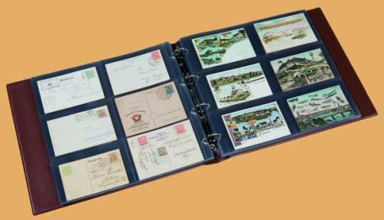 Einsteckblätter kleineres Format (325x330 mm)