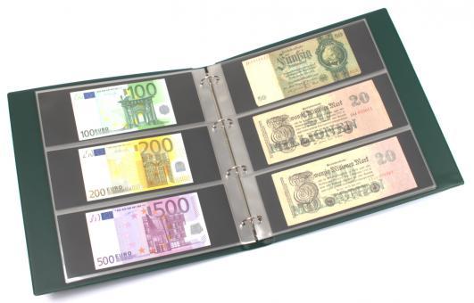 Banknotenalbum Großformat