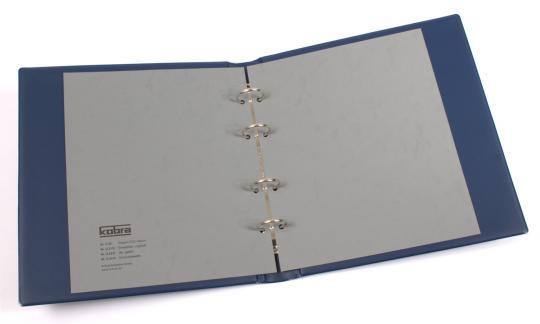 Ringbinder zu Doppel-FDC- und Telefonkartenalbum