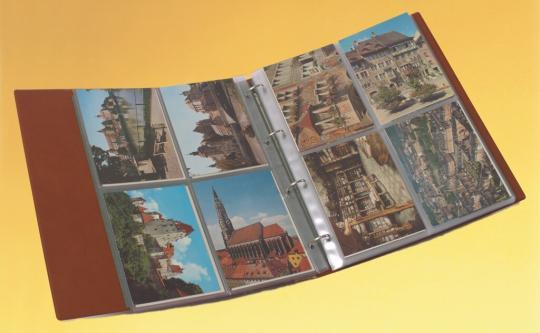 Sonderposten Ringbinder für Einsteckblätter im DIN-A4-Format