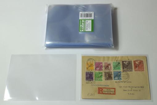 Schutzhüllen für normale Briefe DIN C6 (100 Stück)
