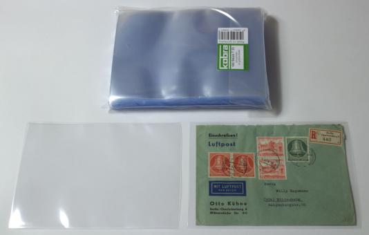 Schutzhüllen für größere Briefe (100 Stück)