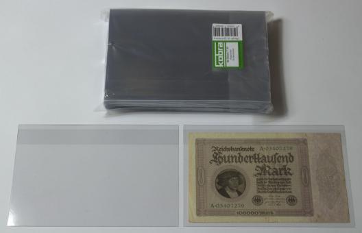 Klapphüllen für größere Banknoten (50 Stück)
