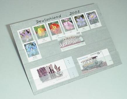 Graue Versand-Einsteckkarten mit 4 Streifen aus Pergamin