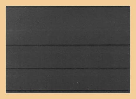 Versandeinsteckkarten DIN A6 (148x105 mm) mit Folienschutzblatt | 3 Streifen