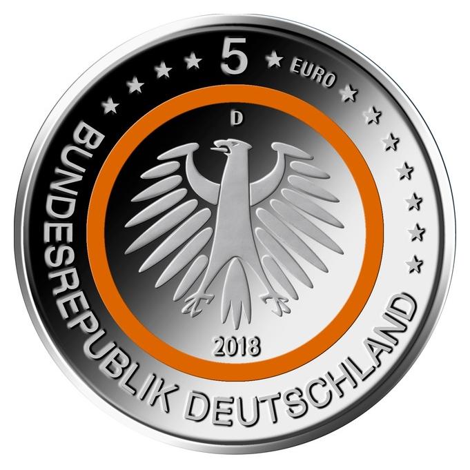 Kobra Sammlerzubehör 5 Euro Münze 2018 Subtropische Zone