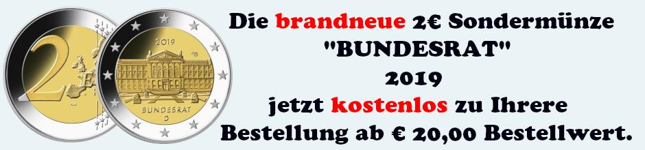 2€ Bundesrat kostenlos