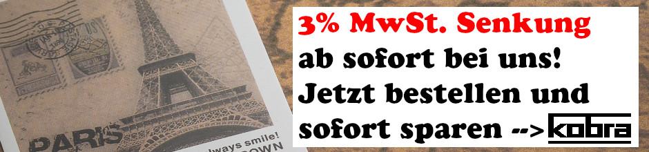 Mwst Sekung 3 Prozent
